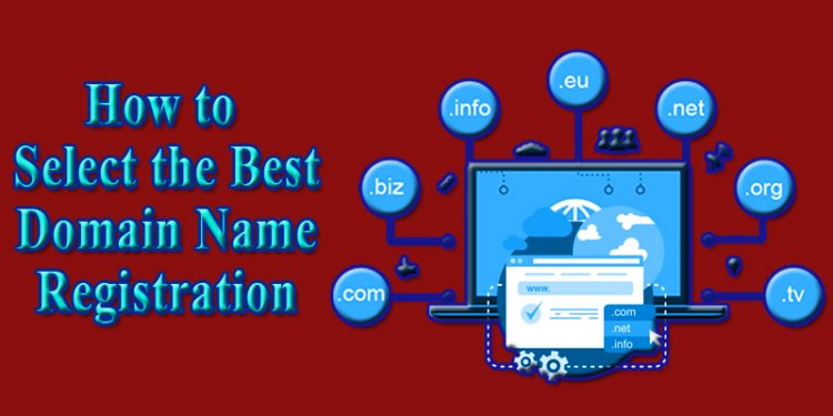 How to Select the Best Domain Name Registration